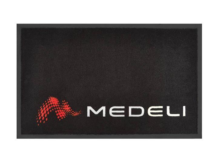 Medeli promotional mat black with logo